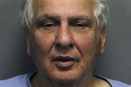 File booking photograph of Joseph Naso, charged with the slayings of four prostitutes dating back to the 1970s
