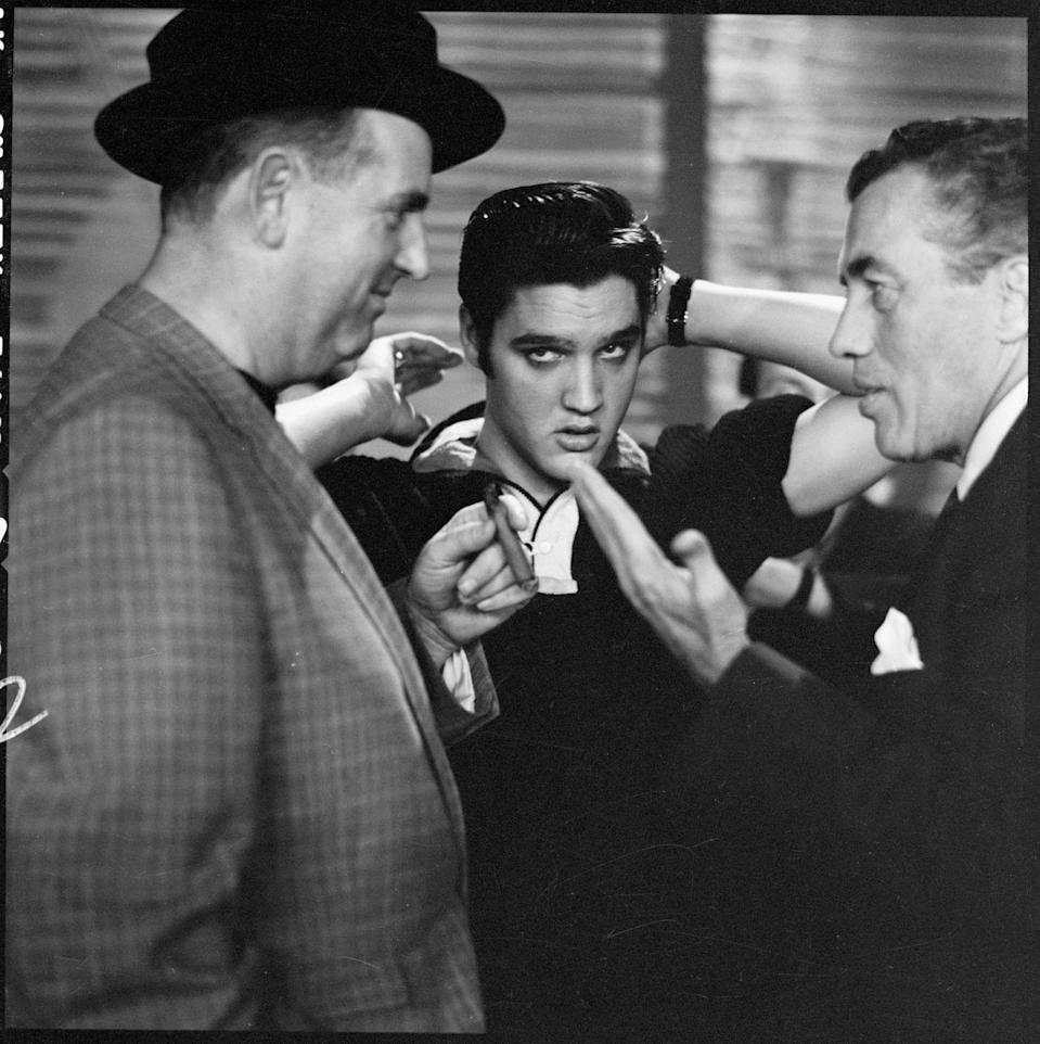 <p>A Baz Luhrmann biopic about Elvis? Have mercy. Starring Austin Butler and Tom Hanks (Hanks isn't playing Elvis… for the record), the film will chronicle Presley's life and his relationship with his long-time manager, Colonel Tom Parker.</p>