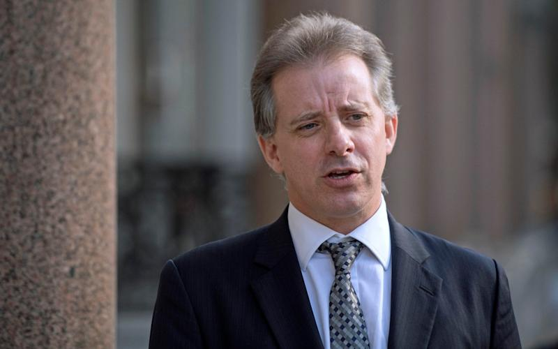The report was paid for by a US film producer Andrew Duncan who hired Christopher Steele and his company Orbis Business Intelligence to assist with the report - PA