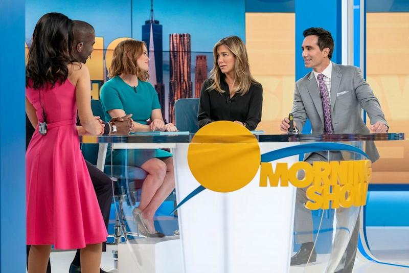 The Morning ShowSeason 1Reese Witherspoon, Jennifer Aniston, Nestor Carbonell | Apple TV +