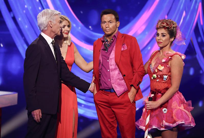 Joe Swash said he found Sunday's show particularly difficult (Photo: Matt Frost/ITV/Shutterstock)