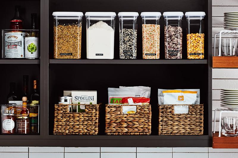 Yeah, there's plenty to choose from in the pantry.