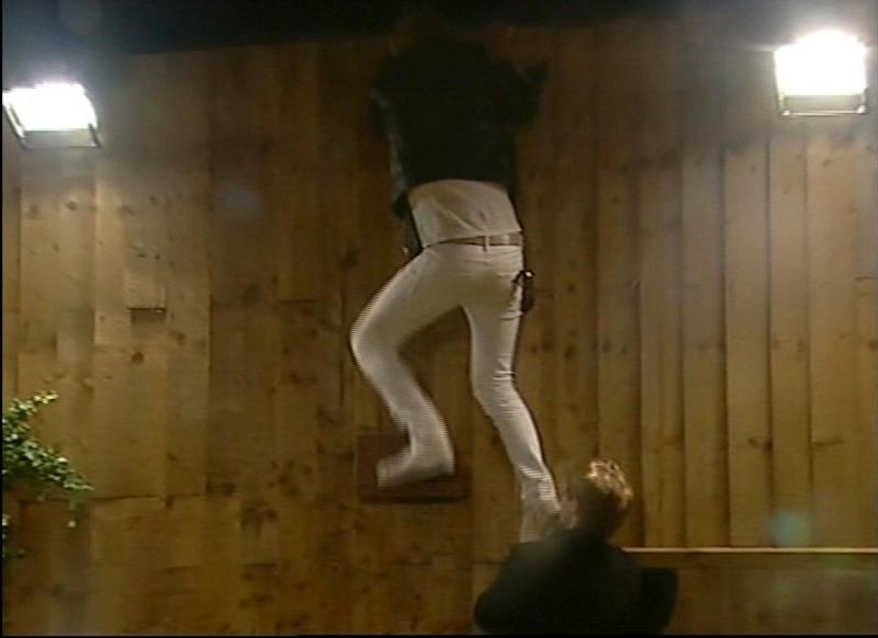 """Jade Goody and Jackiey Budden's arrival in the 'CBB' house prompted the Towers of London frontman to scale a wall and remove himself from the show after just a few short days, claiming: """"I'm not waiting hand on foot, on some f***ing moron and her family."""""""