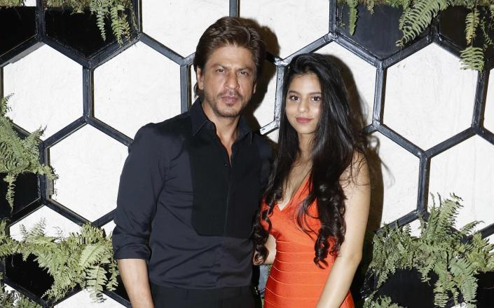 Suhana Khan with her father Shah Rukh Khan (Photo by Prodip Guha/Hindustan Times via Getty Images)