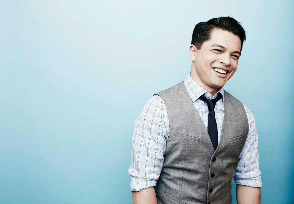 """The Filipino-American actor is best known for playing the lead love interest, Josh Chan, in <em>Crazy Ex-Girlfriend</em>, where he shows off that he's a triple threat who can act, dance, <em>and</em> sing (it also looks like he can hold his own in a <a href=""""https://www.instagram.com/p/BeVskRAF7L0"""" rel=""""nofollow noopener"""" target=""""_blank"""" data-ylk=""""slk:fight"""" class=""""link rapid-noclick-resp"""">fight</a>)."""