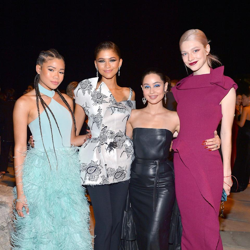"<p>Season one of <strong>Euphoria</strong> may be over, but we're glad to see the cast still hang out when they're not filming. Storm Reid, Zendaya, Alexa Demie, and Hunter Schafer all recently reunited at the <strong>InStyle</strong> Awards, and damn, they looked good!</p> <p><a href=""https://www.popsugar.com/celebrity/instyle-awards-red-carpet-pictures-46789906"" class=""shopnow ga-track"" target=""_blank"" data-ga-category=""Related"" data-ga-label=""https://www.popsugar.com/celebrity/instyle-awards-red-carpet-pictures-46789906"" data-ga-action=""In-Line Links"">Read More</a></p>"