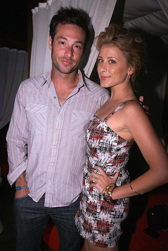 """Former star of """"The Hills,"""" Lo Bosworth and her guy, Scott Hochstadt, proved their love was not just for the show. Do you think the same is true of her one-time co-stars Heidi and Spencer? Chris Weeks/<a href=""""http://www.wireimage.com"""" target=""""new"""">WireImage.com</a> - August 3, 2010"""