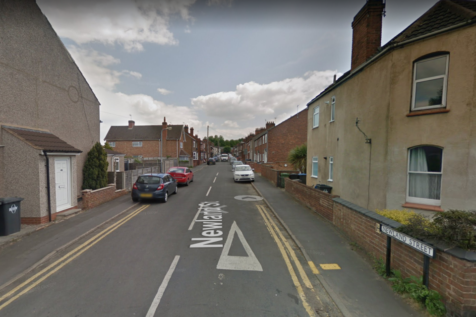 The teen was charged after a man in his 40s was found with multiple serious injuries at a property on Newland Street, Rugby, Warwickshire. (Google Maps)
