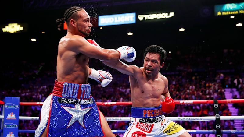 Pacquiao's speed proved too much for Thurman to deal with.