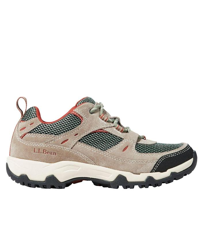 "<br> <br> <strong>L.L. Bean</strong> Trail Model 4 Ventilated Hiking Shoes, $, available at <a href=""https://go.skimresources.com/?id=30283X879131&url=https%3A%2F%2Fwww.llbean.com%2Fllb%2Fshop%2F91621%3Fpage%3Dwomen-s-trail-model-4-ventilated-hiking-shoes"" rel=""nofollow noopener"" target=""_blank"" data-ylk=""slk:L.L. Bean"" class=""link rapid-noclick-resp"">L.L. Bean</a>"