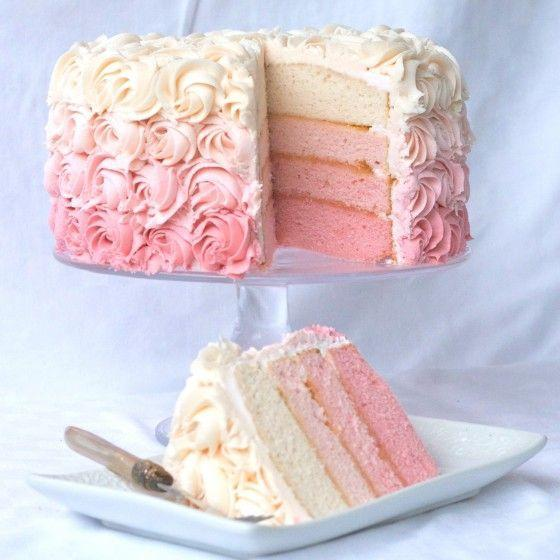 """<p>Mom will love this pretty in pink ombre rose cake. </p><p><strong>Get the recipe at <a href=""""http://www.countrycleaver.com/2012/02/a-bouquet-of-roses-just-for-you.html"""" rel=""""nofollow noopener"""" target=""""_blank"""" data-ylk=""""slk:Country Cleaver"""" class=""""link rapid-noclick-resp"""">Country Cleaver</a>.</strong> </p>"""