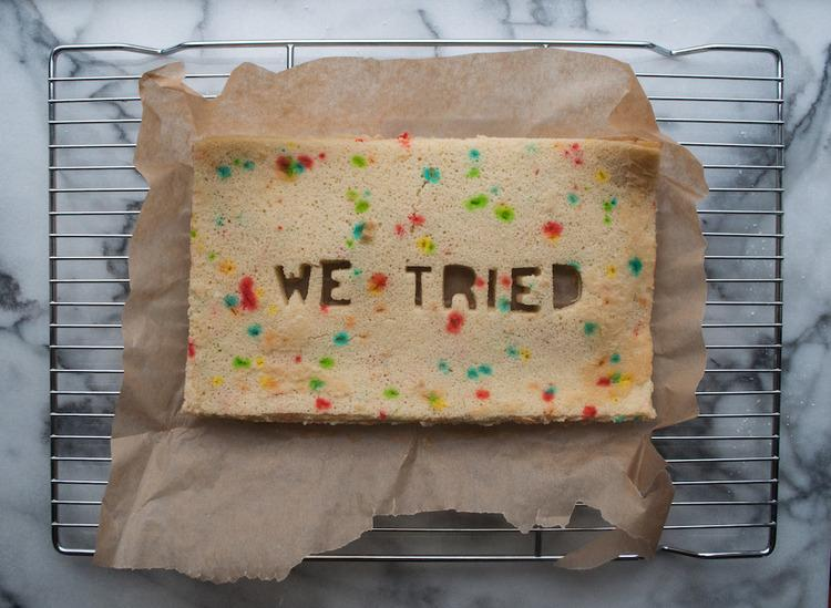 These baked goods tell it like it is.