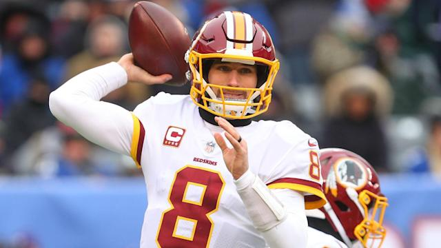 In a farewell letter to the Washington Redskins faithful, Kirk Cousins tagged the Minnesota Vikings and the New York Jets.