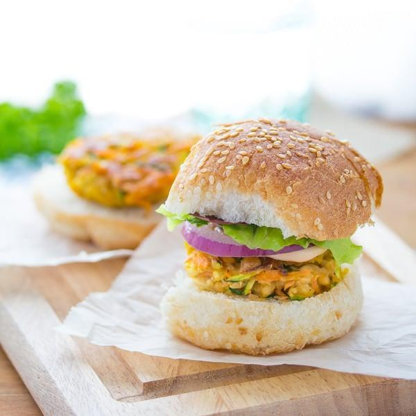"<p>Packed with carrots and zucchini, these mini burgers have more flavor than you would expect. The fresh mint adds the kick you were looking for.</p> <p><strong>Get the recipe</strong>: <a href=""http://sweetpeasandsaffron.com/2014/07/moroccan-chickpea-sliders-with-spicy-harissa-mayo-and-mint.html"" class=""link rapid-noclick-resp"" rel=""nofollow noopener"" target=""_blank"" data-ylk=""slk:Moroccan chickpea sliders with spicy harissa mayo and mint"">Moroccan chickpea sliders with spicy harissa mayo and mint</a></p>"