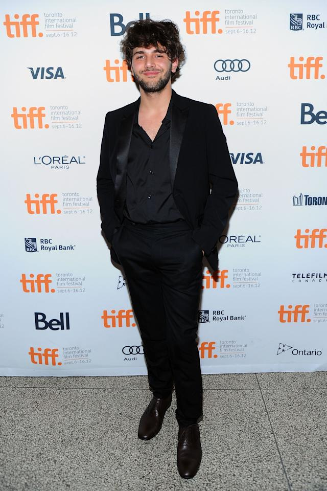 """WORST: French-Canadian wunderkind filmmaker Xavier Dolan arrives at the premiere of his film, """"Laurence Anyways,"""" looking more than a little disheveled. His hair is in desperate need of styling, and oh, how we wish he would button up that shirt and put on a tie."""