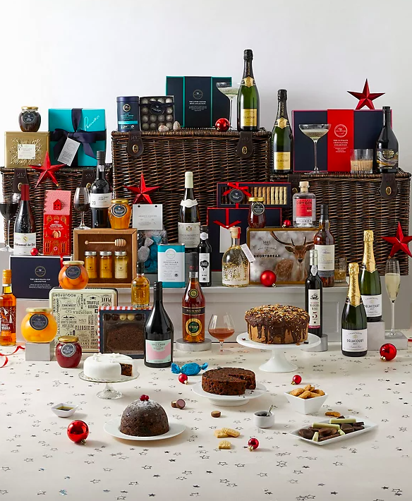 Collection Berkeley Luxury Christmas Hamper. (Marks & Spencer)