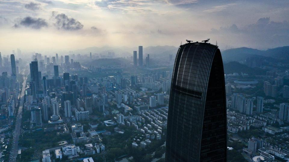 Shenzhen is one of nine mainland cities included in the Greater Bay Area, along with Hong Kong and Macau. Photo: Martin Chan