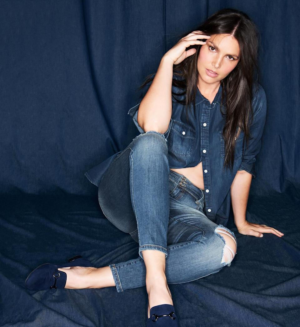 <p><strong>Starring: </strong>Candice Huffine<br>(Photo: Courtesy of Torrid) </p>