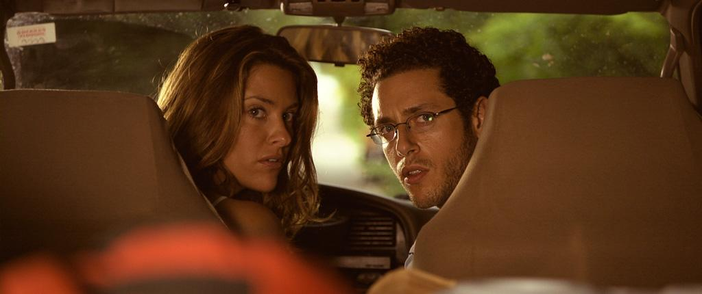 """<a href=""""http://movies.yahoo.com/movie/contributor/1809105419"""">Jill Wagner</a> and <a href=""""http://movies.yahoo.com/movie/contributor/1800419902"""">Paulo Costanzo</a> in Magnet Releasing's <a href=""""http://movies.yahoo.com/movie/1809990018/info"""">Splinter</a> - 2008"""