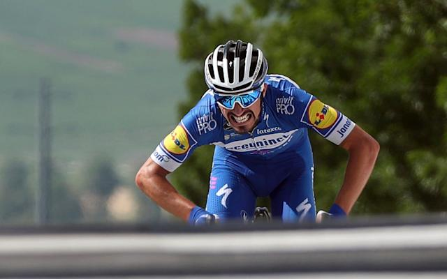 Julian Alaphilippe was one of the standout riders in 2019, but can the Frenchman repeat his success in 2020? - AP