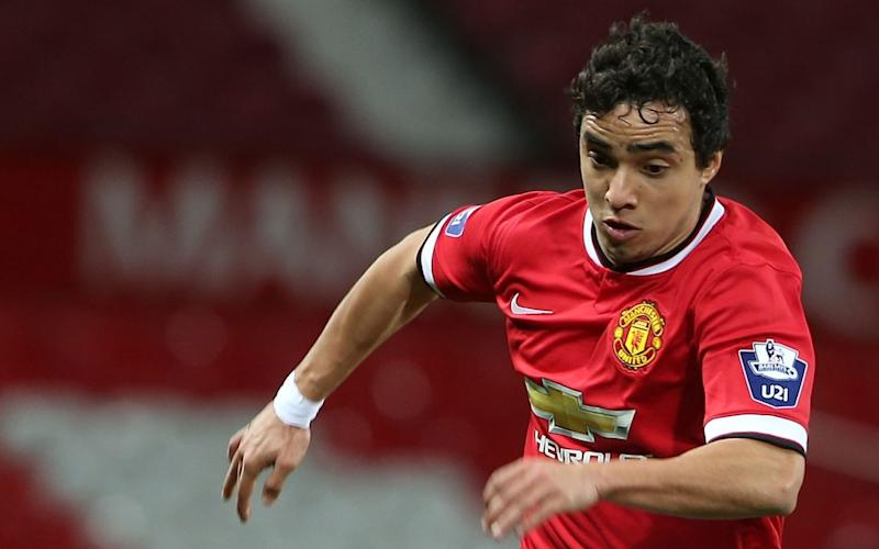 MANCHESTER, ENGLAND - MARCH 10: Rafael da Silva of Manchester United U21s in action during the Barclays U21 Premier League match between Manchester United and Tottenham Hotspur at Old Trafford on March 10, 2015 in Manchester, England - Credit: Matthew Peters/Getty