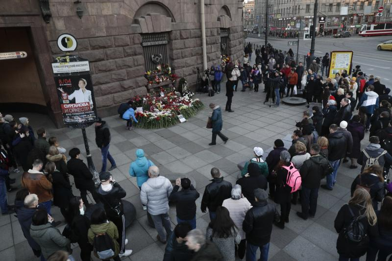 Suspected Isis recruiters arrested in St Petersburg in wake of metro attack