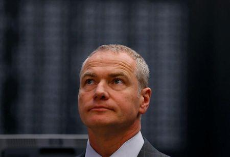 FILE PHOTO:  Carsten Kengeter, CEO of Deutsche Boerse, attends the initial public offering of Scale at the Frankfurt stock exchange in Frankfurt