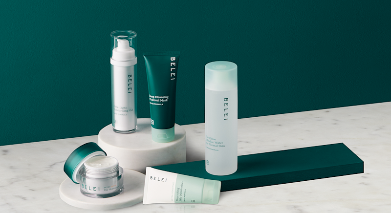 Amazon have launched its first skincare brand Belei. [Photo: Amazon]