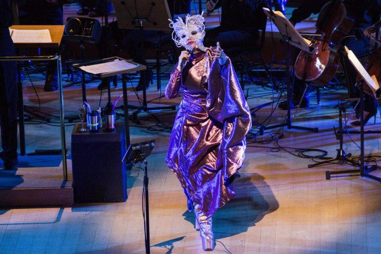 Bjork with the Los Angeles Philharmonic