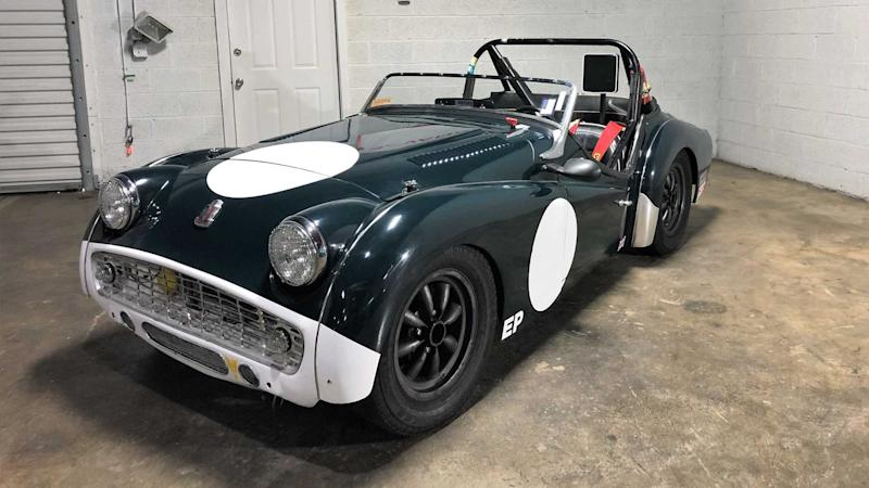 This Race Prepared Triumph Tr3a Is The Perfect Weekend Toy