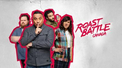 Roast Battle Canada (CNW Group/CTV Comedy Channel)