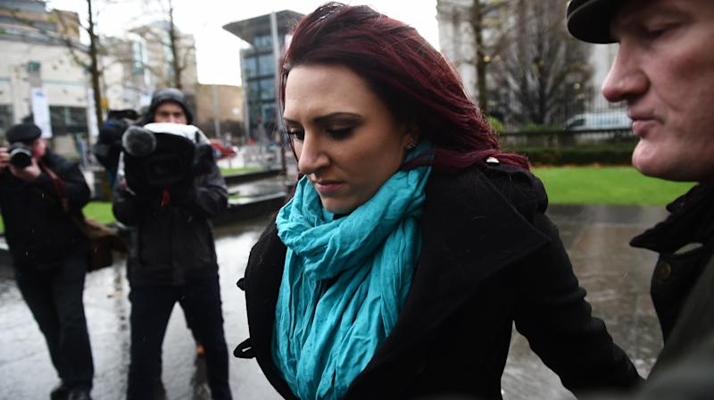 The deputy leader of the far-right Britain First group has been re-arrested in Belfast.