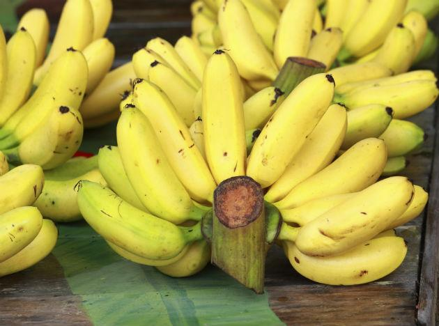<b>Hangover food 5: Bananas</b><br><br>Bananas are packed with potassium and magnesium, two of the minerals often depleted in our bodies when alcohol is consumed. A lack of potassium in the body can lead to nausea, weakness and tiredness, so stocking up on bananas can help reduce these classic hangover symptoms. As an added bonus, bananas are natural antacids so great for reducing stomach acid, and are good for providing a boost of energy if you have a busy day ahead.