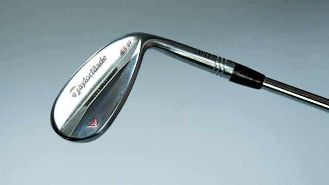<strong>WEDGES</strong><br> <strong>SPECS:</strong> TaylorMade Milled Grind (52˚, 56˚) (<em>pictured</em>); TaylorMade Milled Grind Hi-Toe (60˚), Project X 6.5 shafts