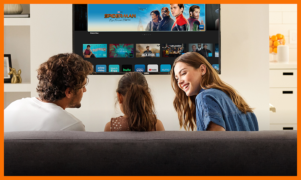 Gather the family around the TV. (Photo: Walmart)