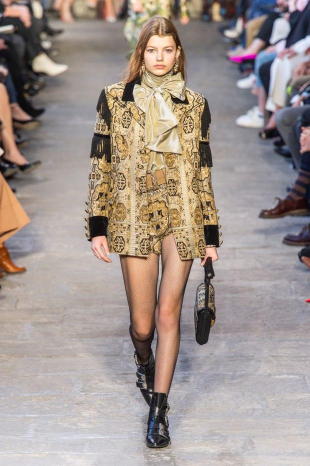 <p>A look from the Etro Fall 2019 collection. Photo: Imaxtree</p>