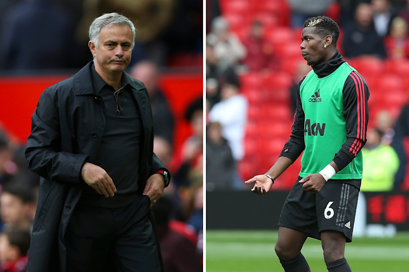 Mourinho tells Pogba he won't captain Manchester United again