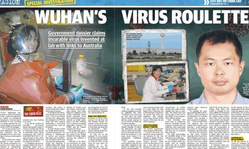 A dodgy dossier? How News Corp hyped a US government reading list into a China coronavirus 'bombshell'