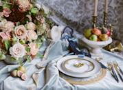 """<p>Shades of blue lend themselves to weddings any time of year, but in the winter months, opt for this icy shade in rich, luxe velvets—from the tablescape, to the backing of the paper suite. This tone works double duty as a pop of color in its deeper tones, and as a neutral as it goes softer. Trust us, this is the shade that will make a color palette of expected jewel tones like rich burgundies, mustards, sage, and emerald greens unexpected and surprising, from the time your guests first receive their invitations, until they are seated at the dinner table. </p><p><em>Pictured: Planning by <a href=""""https://eastonevents.com/"""" rel=""""nofollow noopener"""" target=""""_blank"""" data-ylk=""""slk:Easton Events"""" class=""""link rapid-noclick-resp"""">Easton Events</a>.</em></p>"""