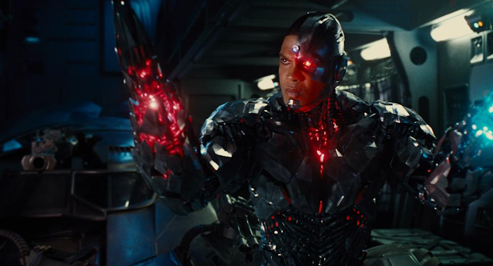 Ray Fisher's Cyborg in Zack Snyder's Justice League