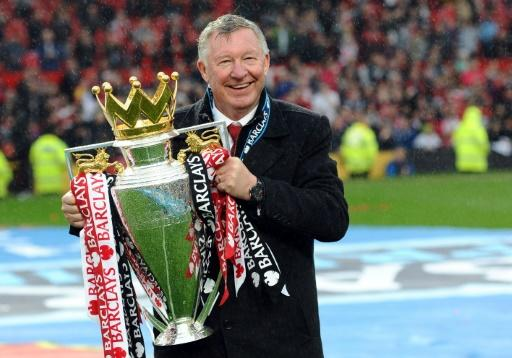 Alex Ferguson won 13 Premier League titles with Manchester United