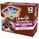 <p>I can eat chocolate-covered almonds by the truckload, so I appreciate these preportioned <span>Blue Diamond Oven Roasted Cocoa Dusted Almonds</span> ($15 for 32).</p>