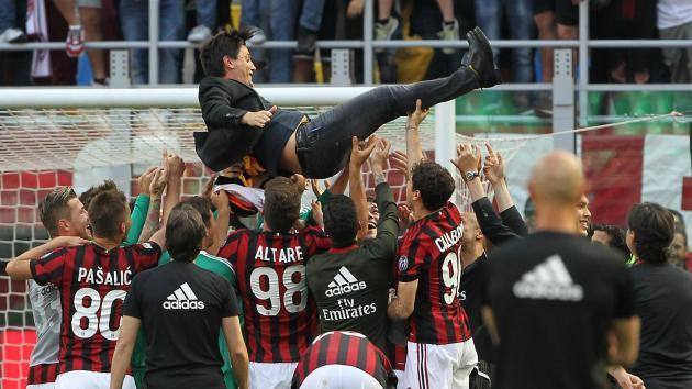 Montella hails a 'new beginning' for AC Milan after Europa League qualification