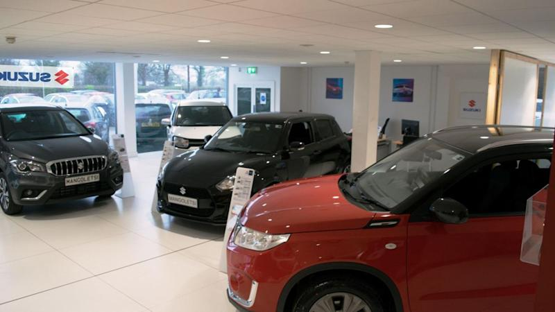 Two-thirds of cars are bought outriht