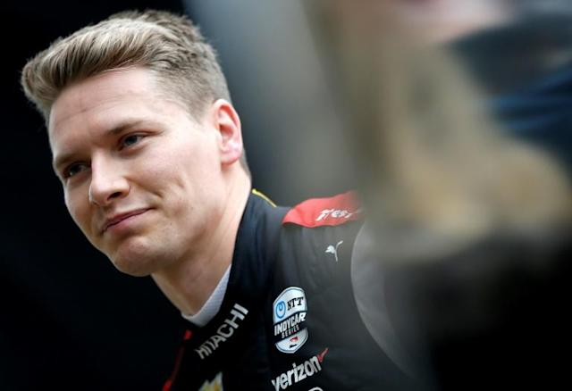 American Josef Newgarden won the IndyCar race at St. Petersburg, Florida in 2019 on the way to the series crown. The 2020 St. Petersburg race will serve as the season finale on October 25 in a schedule revamped because of the coronavirus pandemic (AFP Photo/JONATHAN FERREY)
