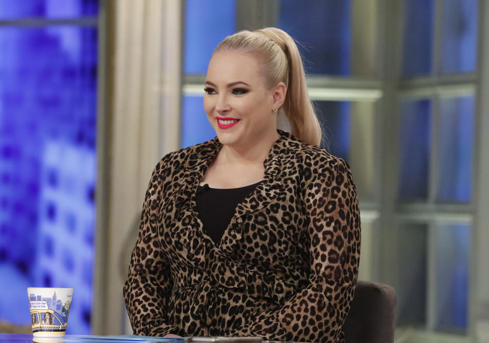 Meghan McCain has a very important question about breastfeeding.