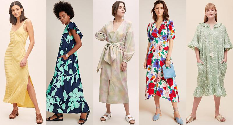 The best dresses in Anthropologie's 50% off summer sale. (Anthropologie)
