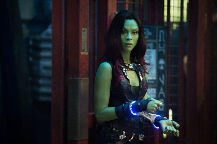 Marvel's Guardians Of The Galaxy..Gamora ()..Ph: Jay Maidment..?Marvel 2014