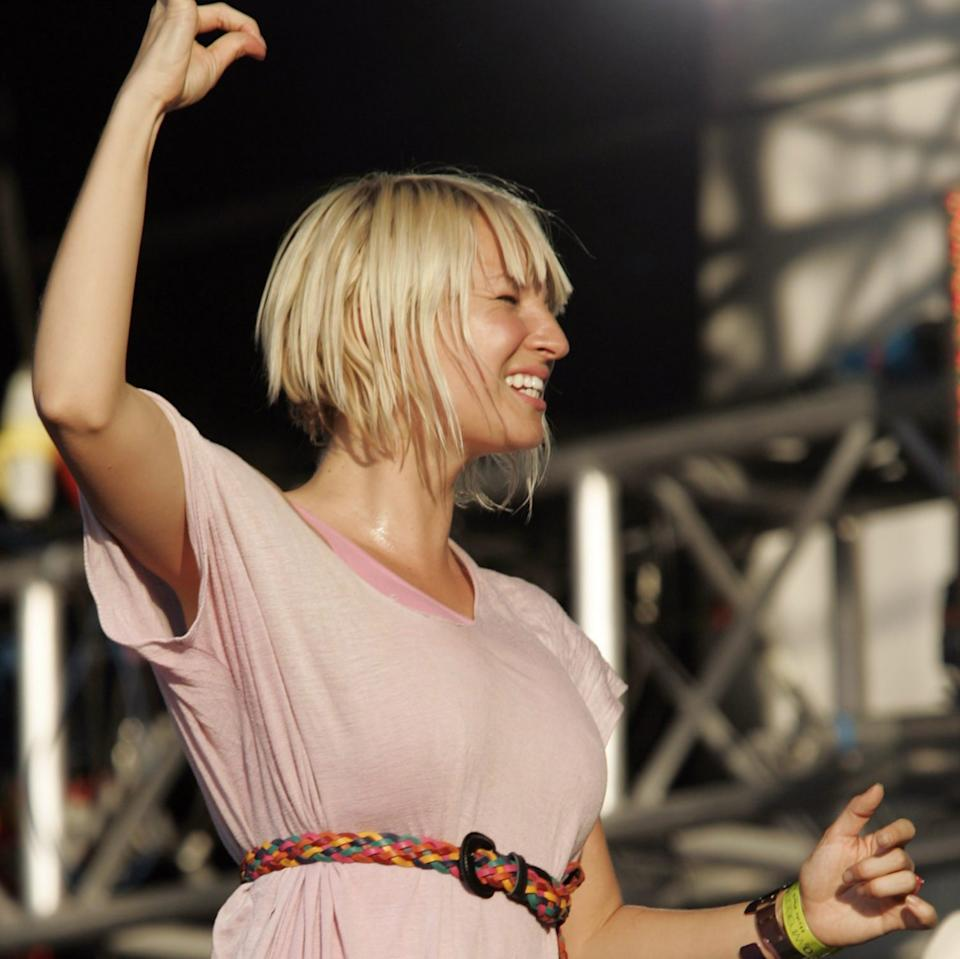 Kershaw worked with Sia in the early, pre-wig years of her career - Reuters