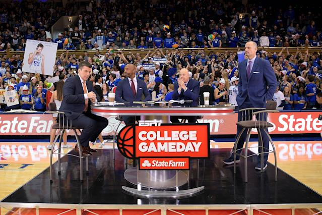 "ESPN will hold ""College GameDay"" in Bristol this week. (Photo by Lance King/Getty Images)"